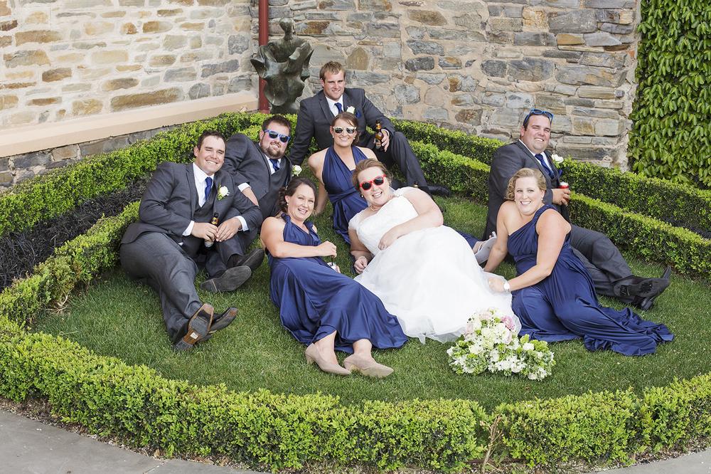 Fun Chateau Tanunda Croquet Garden Wedding Portrait.jpg