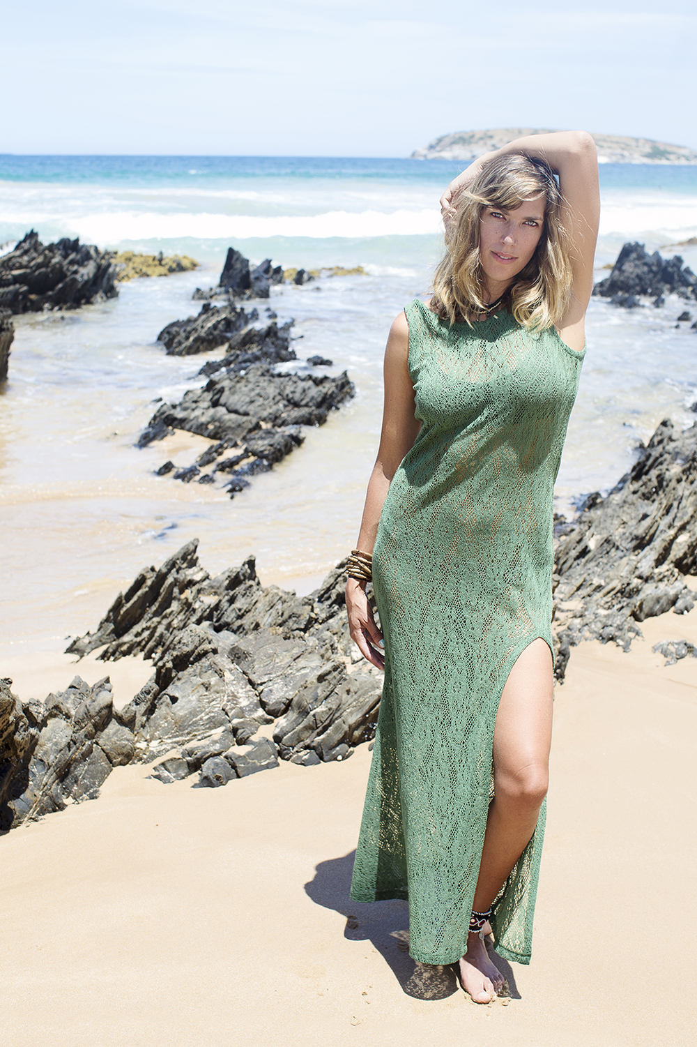Natural Arty Adelaide Beach Fashion Portrait Full Body.jpg