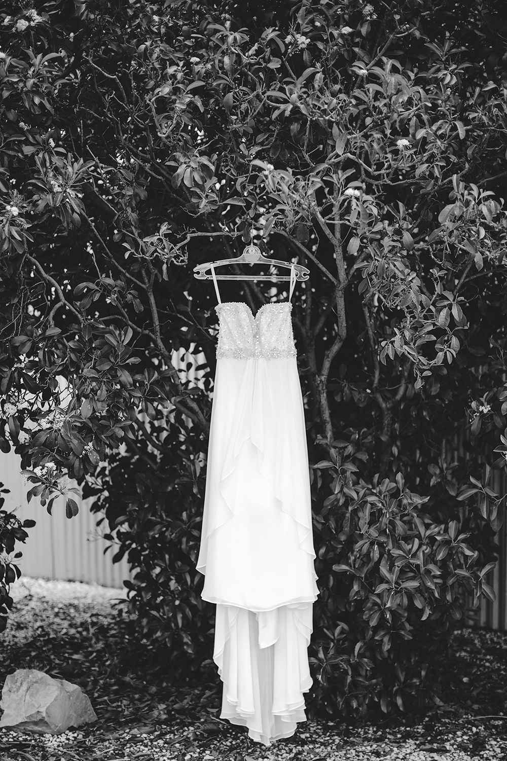 Adelaide Wedding Bride Preparation Photo 03 Black White Dress.jpg