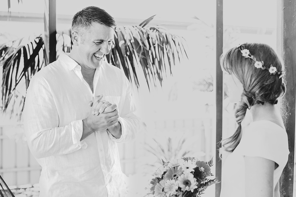 Victor Harbour Wedding Photography 011 black white bride reveal.jpg