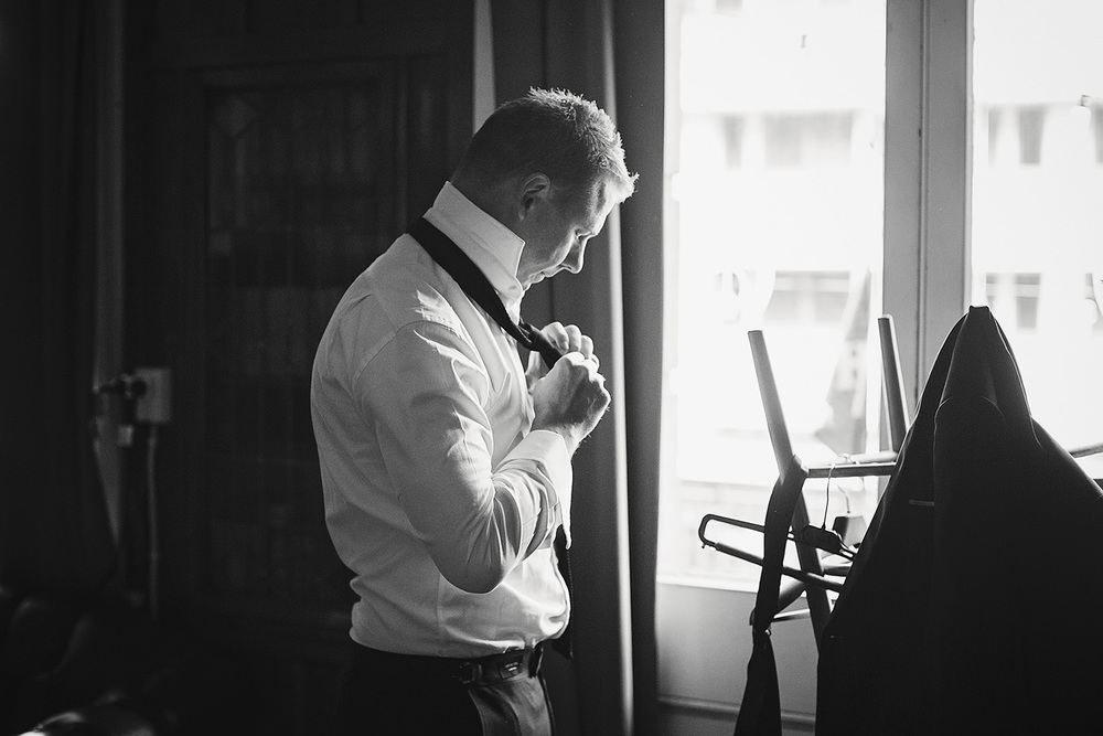 Groom Preparation Photos
