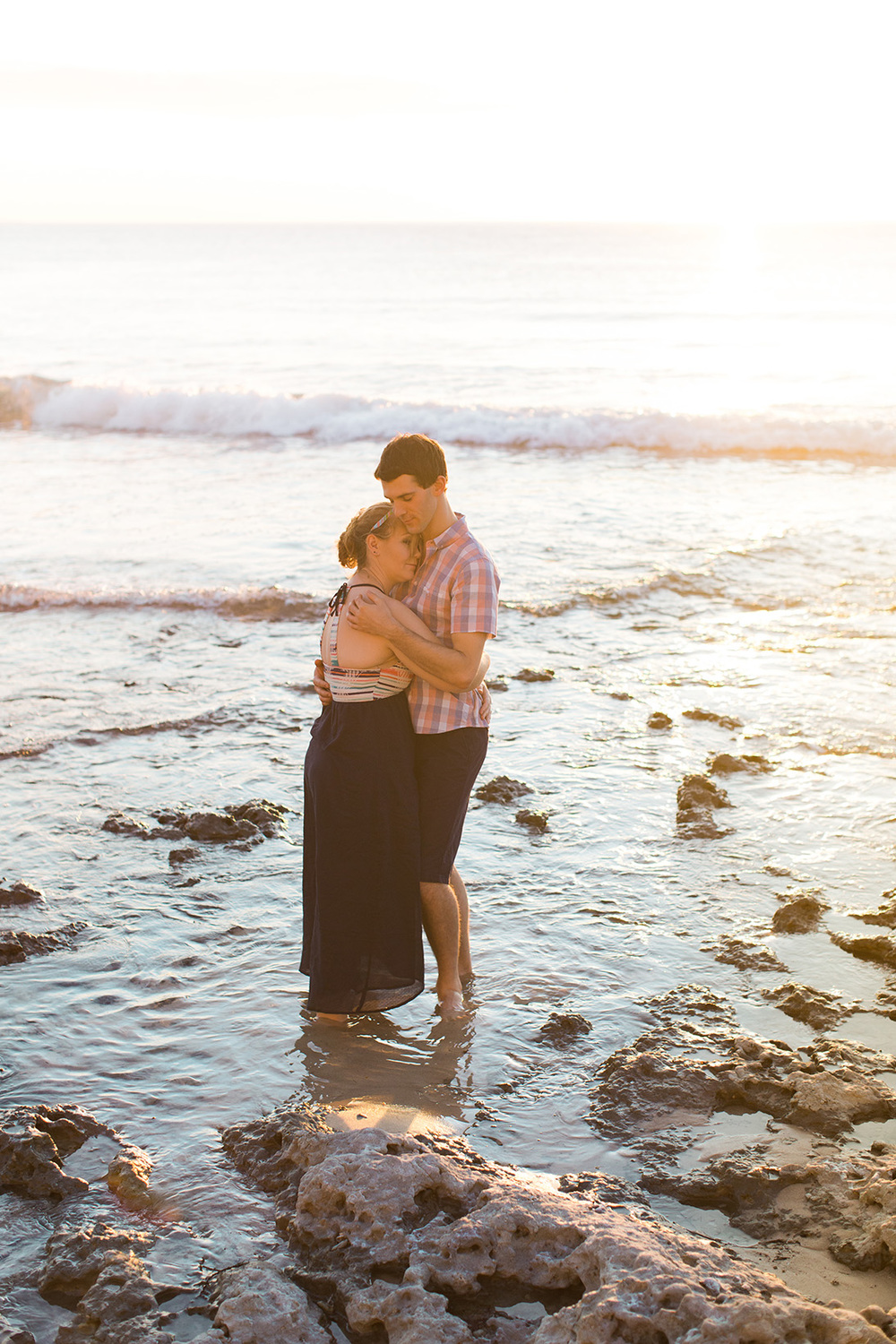 Cute and Fun Beach Engagement Portraits 009.jpg