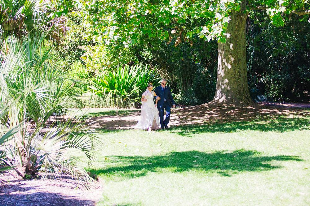Chris & Stephanie's Adelaide Garden Wedding | Little Car Photography - Adelaide Wedding Photographer