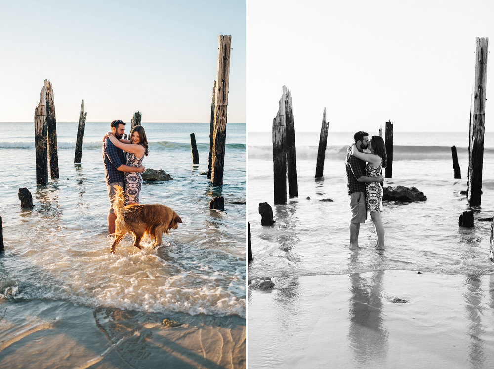 Beach sunset engagement photos willunga 012.jpg