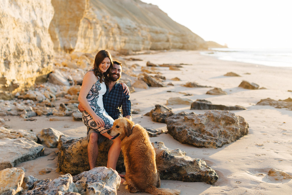Beach sunset engagement photos willunga 026.jpg