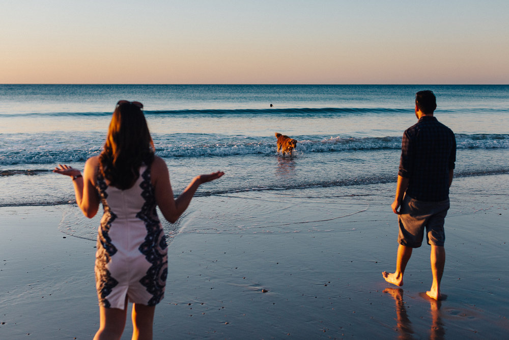 Beach sunset engagement photos willunga 034.jpg