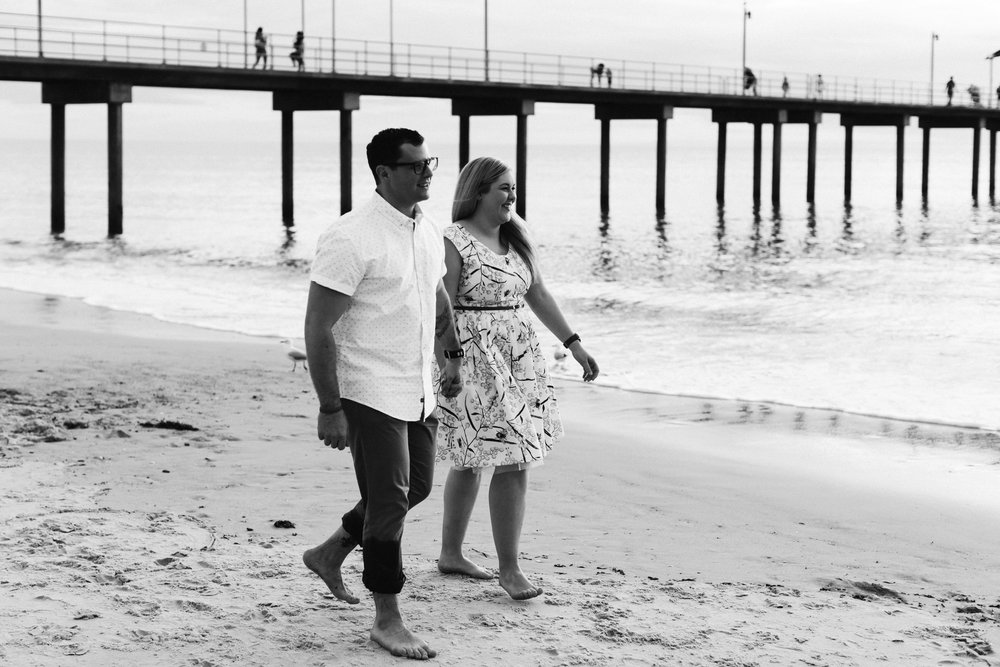 Fun Brighton Beach Sunset Engagement 006.jpg