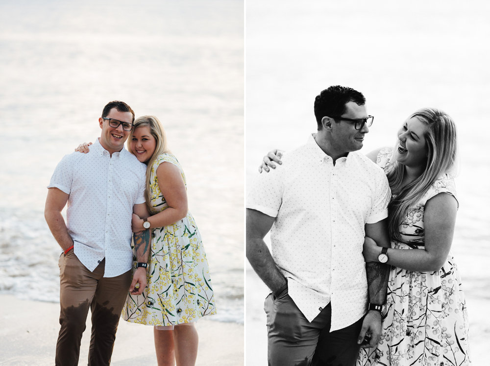Fun Brighton Beach Sunset Engagement 012.jpg