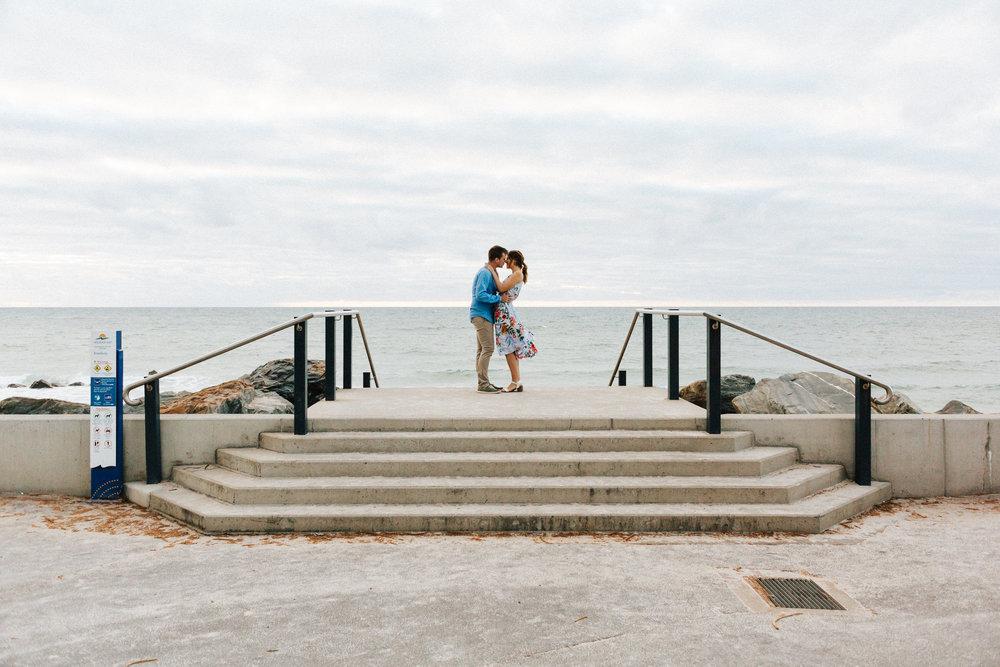 Stormy Summer Glenelg Beach Engagement Portrait 002.jpg