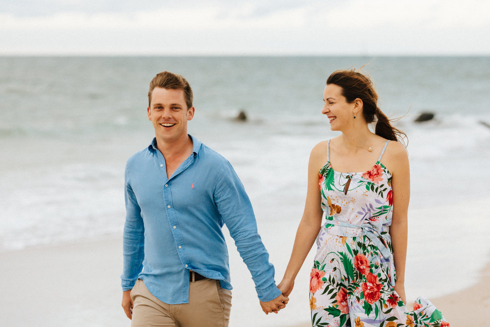 Stormy Summer Glenelg Beach Engagement Portrait 008.jpg