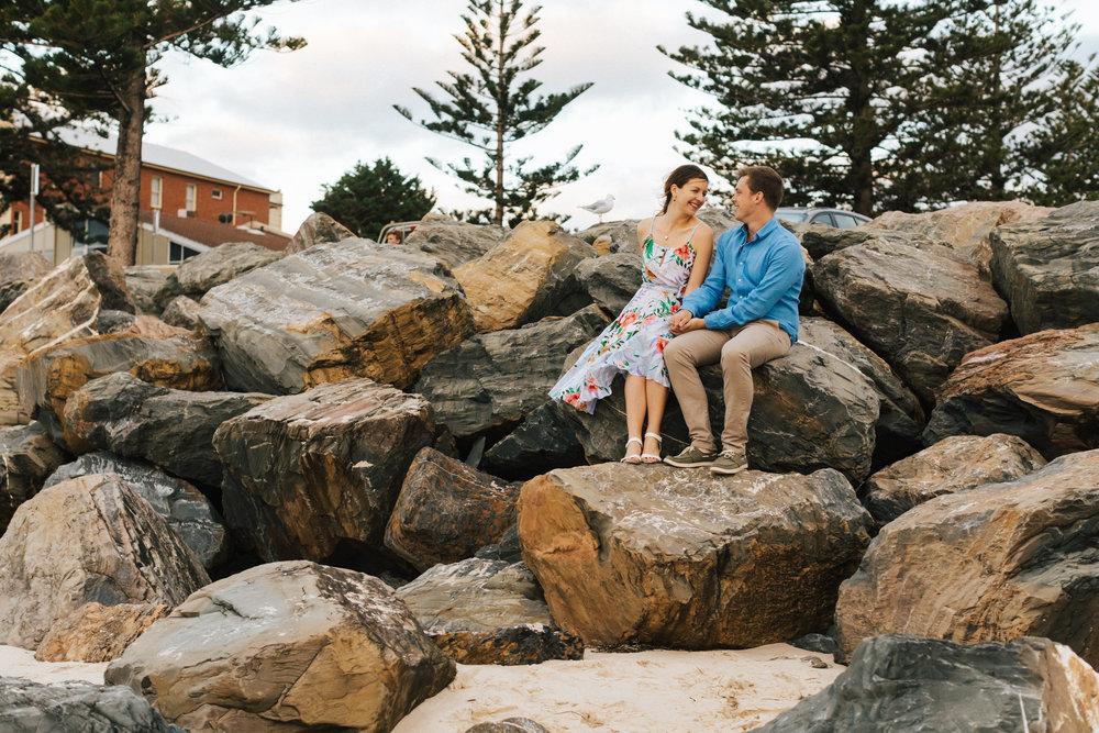 Stormy Summer Glenelg Beach Engagement Portrait 010.jpg