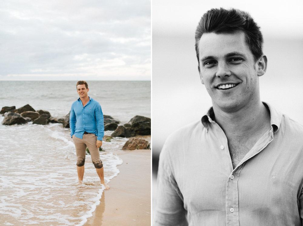 Stormy Summer Glenelg Beach Engagement Portrait 018.jpg
