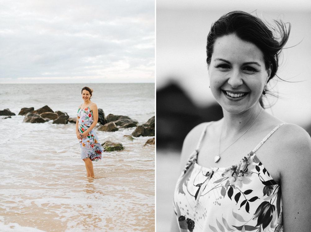 Stormy Summer Glenelg Beach Engagement Portrait 017.jpg
