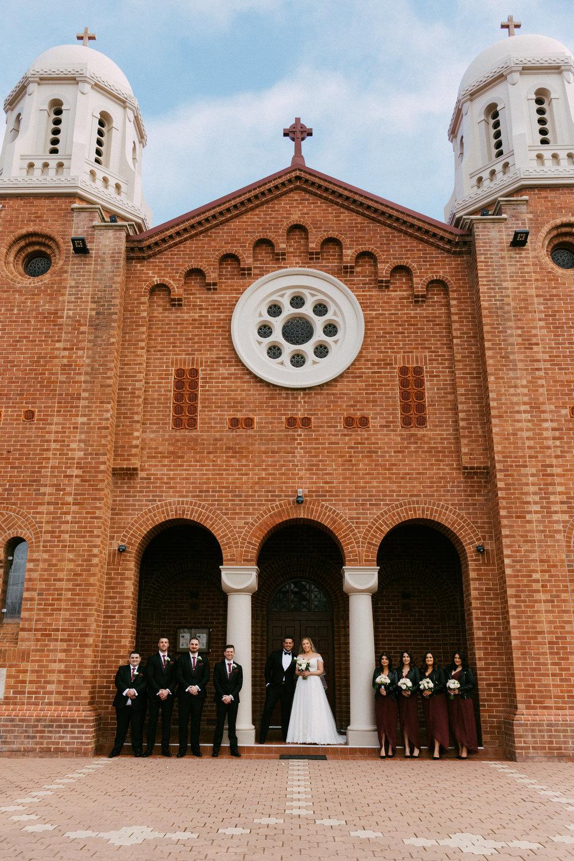 Adelaide Wedding Church Smoke Bomb Serafino 087.jpg