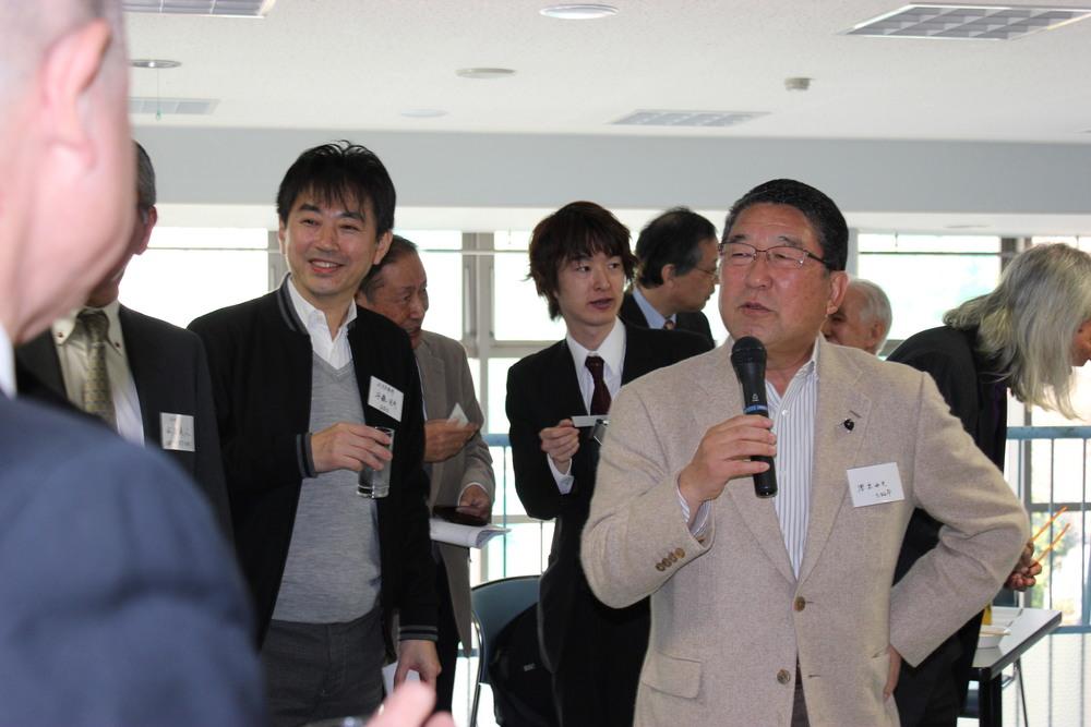 徳光和夫名誉顧問の突撃インタビュー
