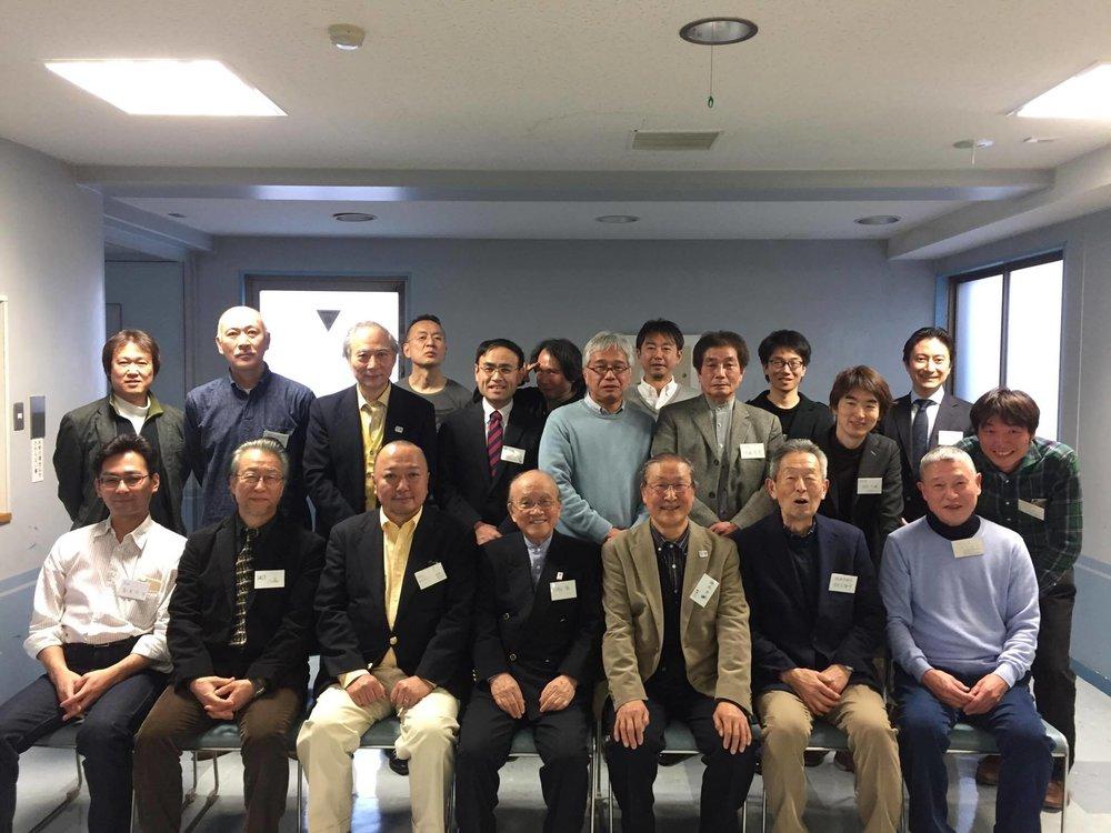 第5会総会出席者の記念写真
