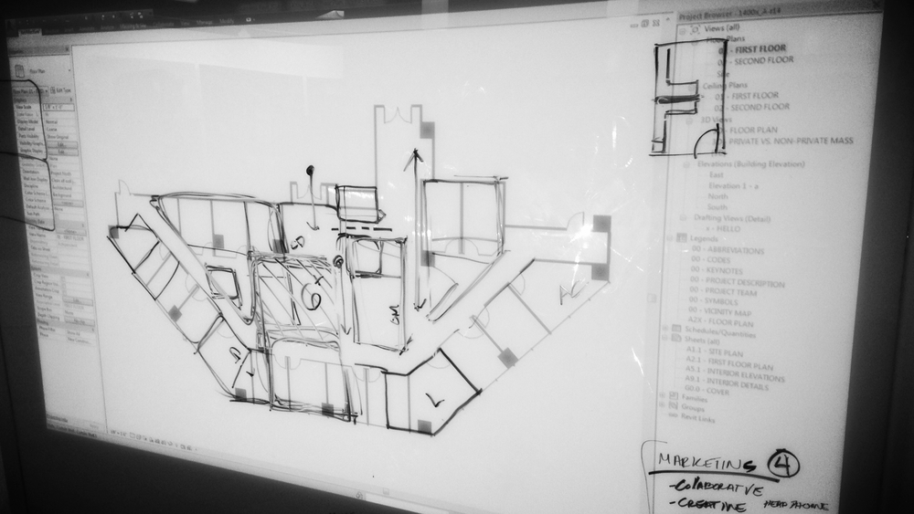 Space planning IN the space is the best kind of collaboration.