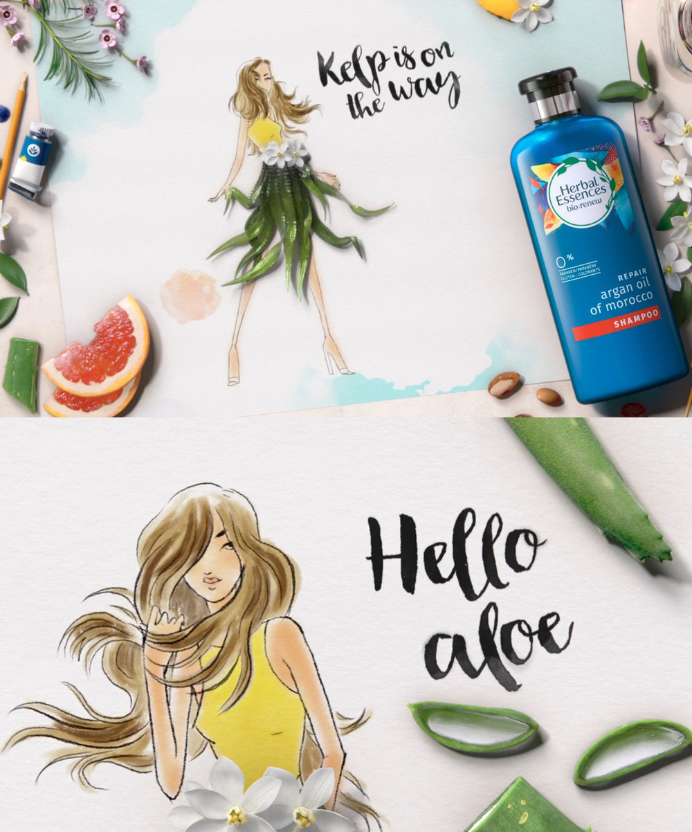 Herbal Essences : bio renew - Lighting and Shading/Texturing for Brand New School in New York Citywatch >