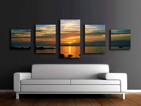 Canvas prints ready to hang