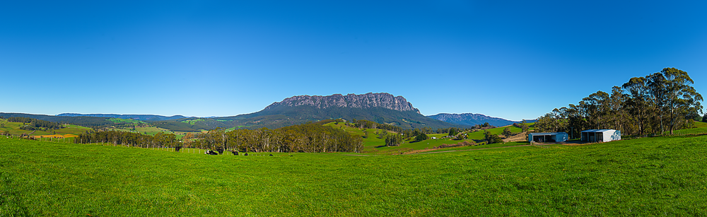 Mt Roland Panorama - Tasmania - Wilkography