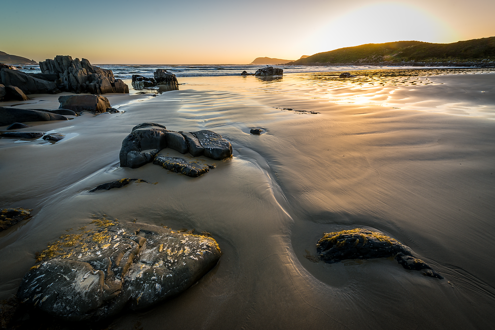 Middle Bay Sunset - Bruny Island - Tasmania - Wilkography