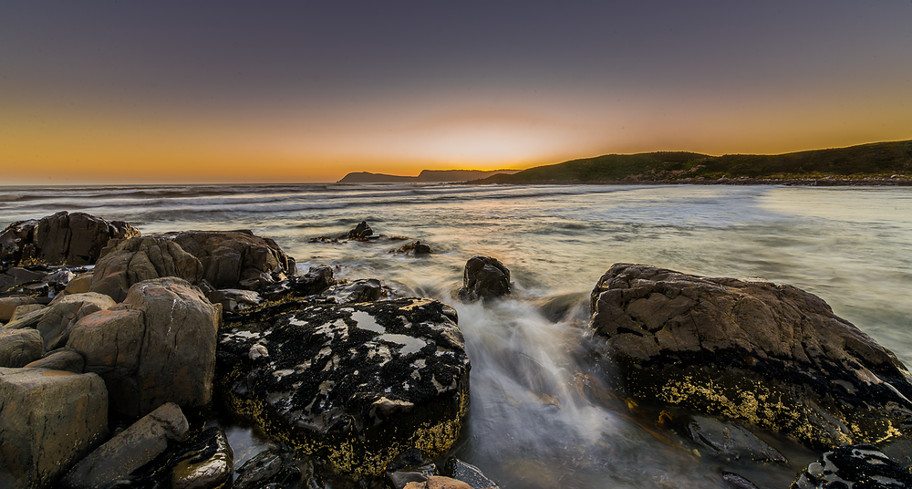 Cloudy Bay Sunset 2 - Bruny Island - Tasmania - Wilkography