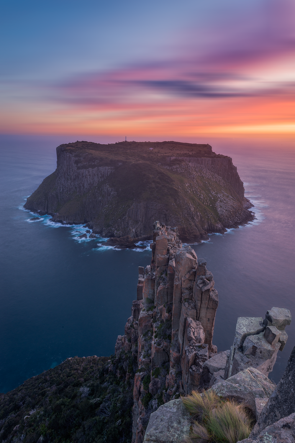 Sunset Over The Blade - Wilkography - Tasmanian Photography