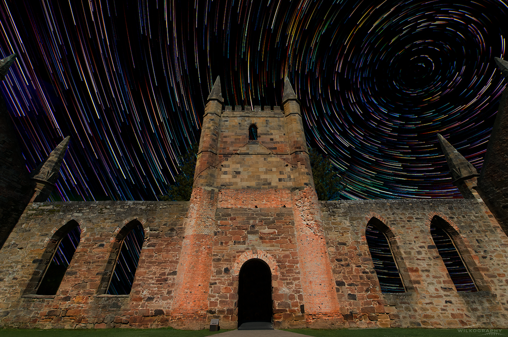 The Church & Comet Trails #8