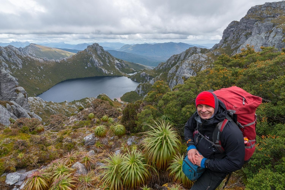 Happy Place - Achieving a life goal by reaching Lake Oberon in Tasmania's deep south west