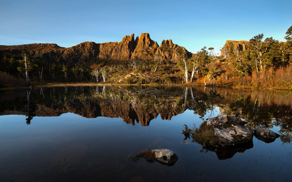 Tasmanian Photography - Reflecting On Memories Golden Hour - WILKOGRAPHY.jpg