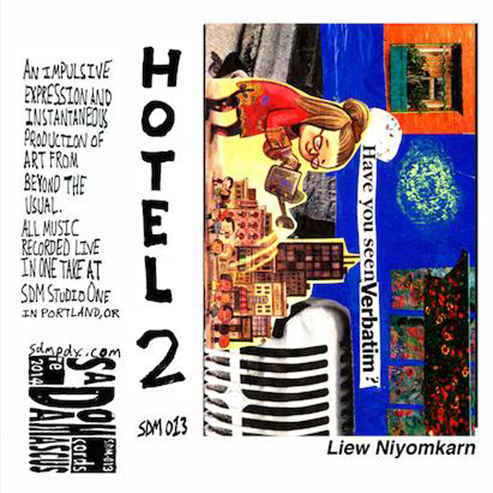 Hotel 2: Liew Niyomkarn  (from Thailand/Los Angeles)    SDM-013