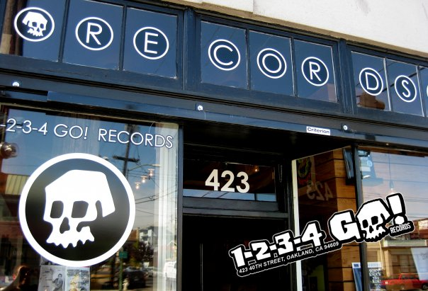 1-2-3-4 Go! Records    420 40th St. Suite 5    Oakland, CA 94609     https://www.facebook.com/1234gorecords/info