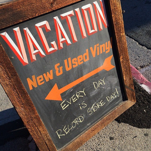 Vacation Vinyl    3815 W Sunset Blvd    Los Angeles, CA 90026     https://www.facebook.com/vacationvinyl