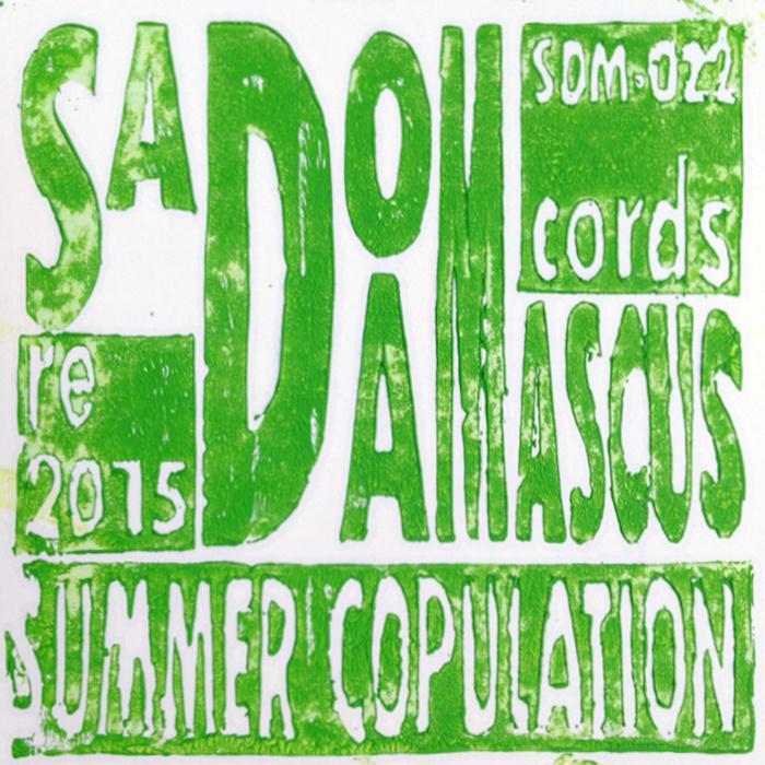 SadoDaMascus Recrods: Summer Copulation 2015    SDM-022