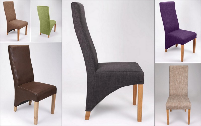 Baxter Fabric Dining Chairs