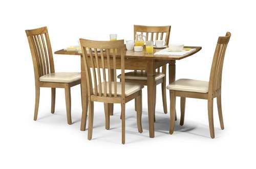 Julian Bowen Newbury Maple Extending Dining Table Etrading1couk