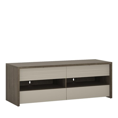 Furniture To Go Aspen 4 Drawer Tv Stand Inc Led Lighting In