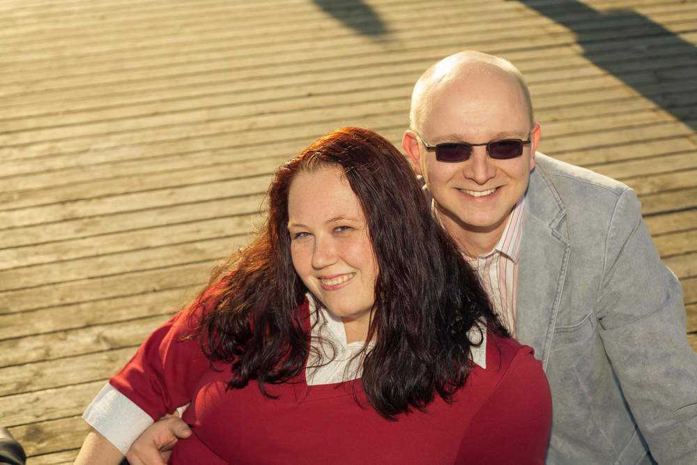 Lifestyle Engagement Portrait taken by The Hague Photographer Al Borrelli