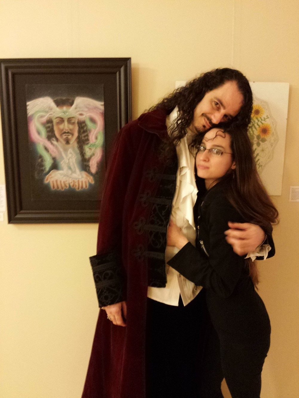 Me and my muse-man