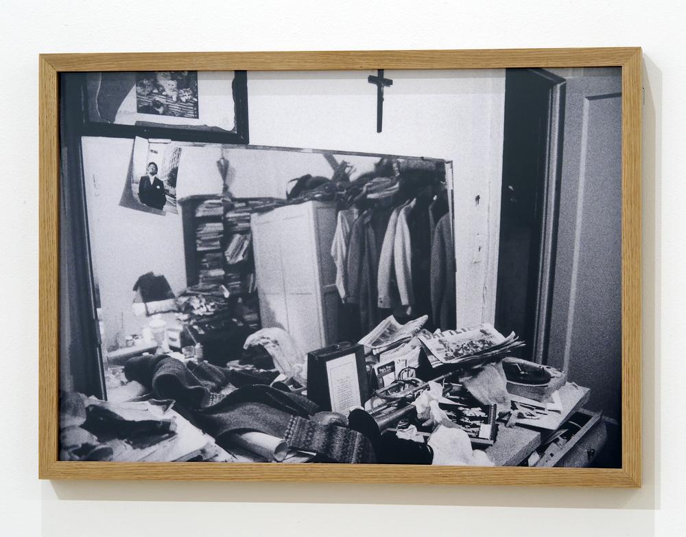 """Jacques Butler's home, East Village, NYC 2003"" digital print, 48 x 67 cm (Photo: Albane Sharrard)"