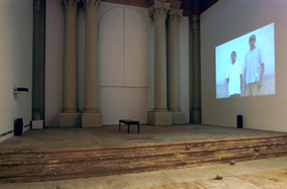 Installation view, Chapelle St.Jacques, Saint Gaudens, France