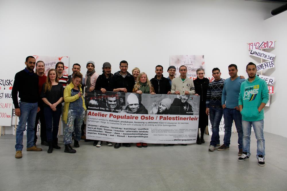 08 A.Lange-Dokumentasjon Atelier Populaire Oslo-Palestinerleir 45.jpg