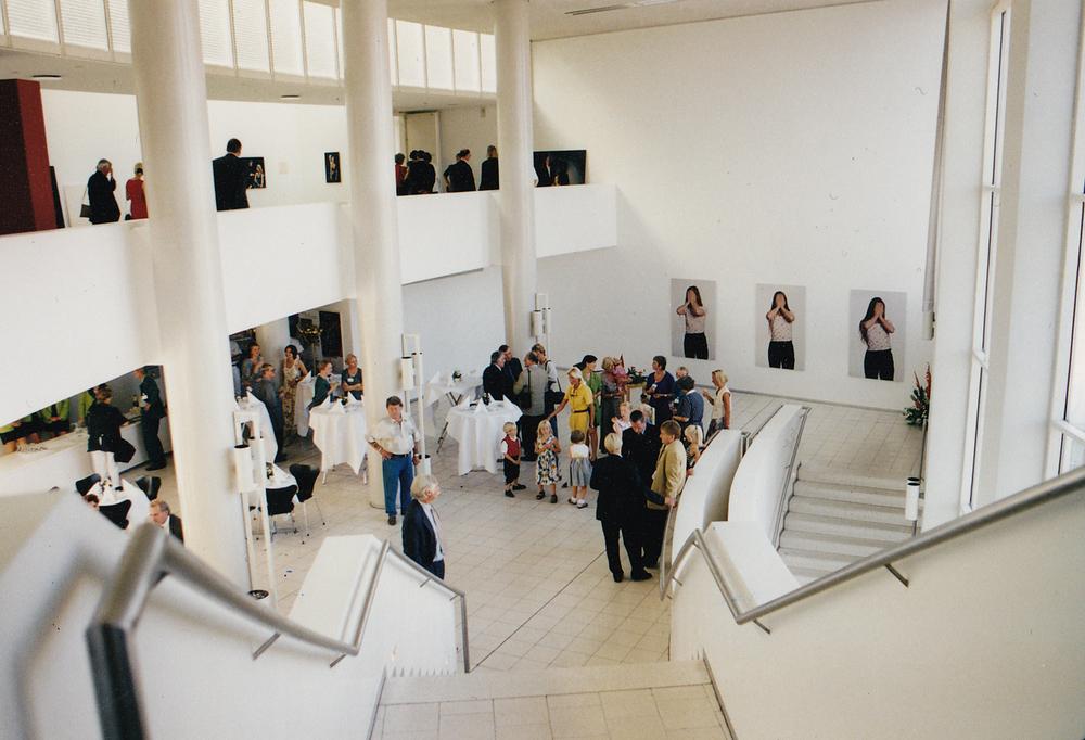 Installation view, Stadtgallerie im Sophienhof, Kiel, Germany