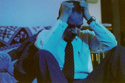"Mickey Sykes stars as Eddie Hughes in the movie, ""Great Awakening""."