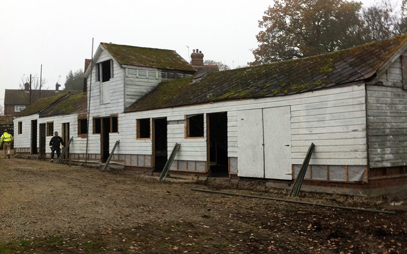 Stables before Conversion