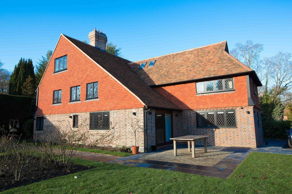 MANOR COTTAGE - RENOVATION OF A GRADE 2* LISTED COTTAGE IN TUNBRIDGE WELLS, KENT.