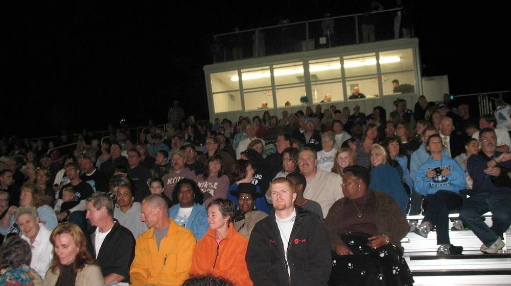 Alumni, Family and Another Full House at Homecoming.JPG