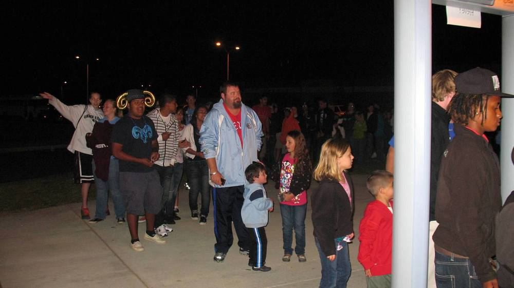 Overflow Crowd at Homecoming.JPG