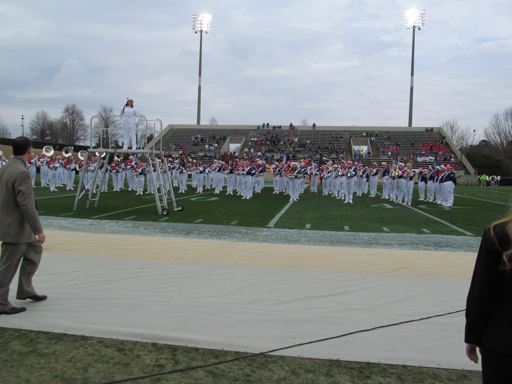 Freedom HS Band - 2013 Shrine Bowl of the Carolinas