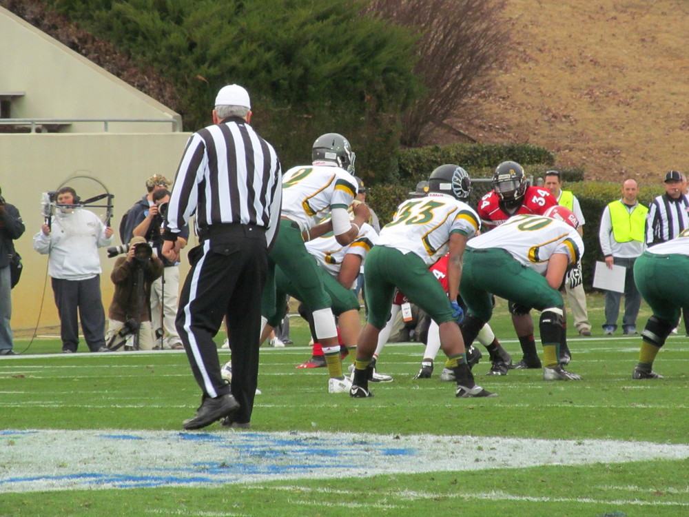Isaac's first carry - 2013 Shrine Bowl of the Carolinas